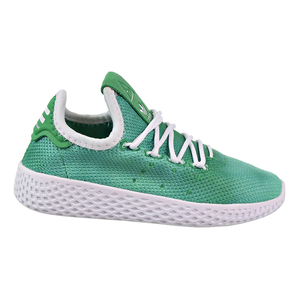 Adidas PW Tennis HU C Preschool Shoes Green/White