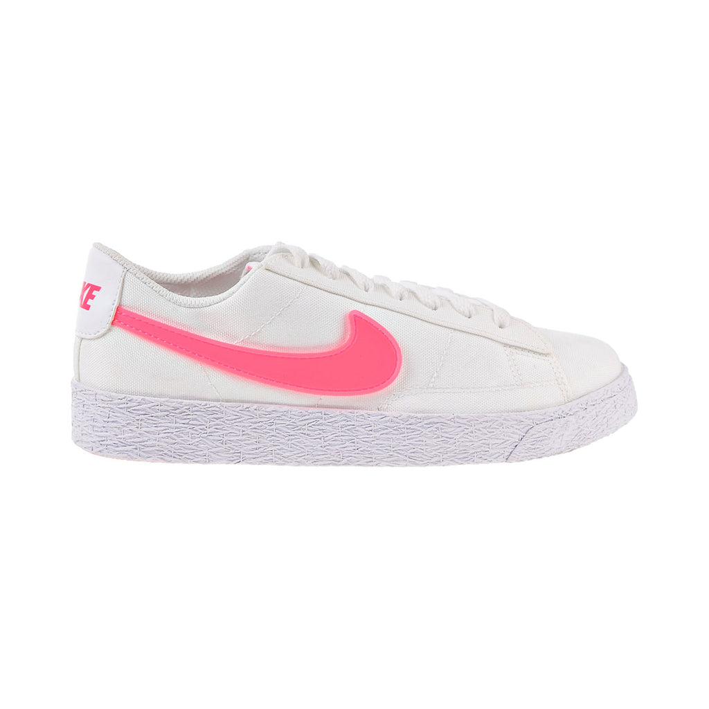 Nike Blazer Low Pop Big Kids' Shoes White-Racer Pink-Rush Pink
