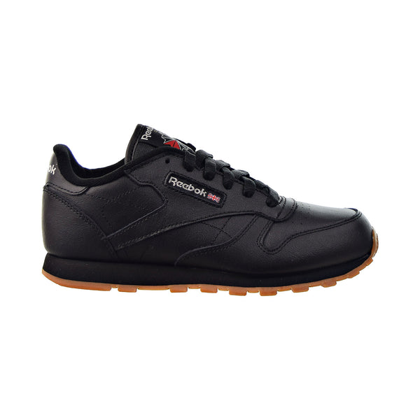 Reebok Classic Leather Big Kids' Shoes Black-Gum