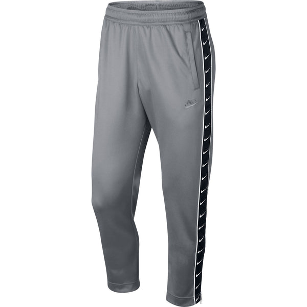 Nike Men's Taped Poly Track Pants Grey-Black