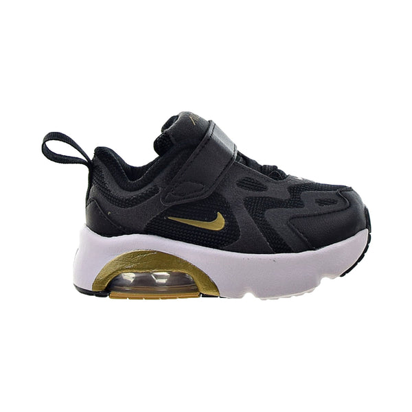 Nike Air Max 200 Toddlers' Shoes Black-Metallic Gold-Antracite