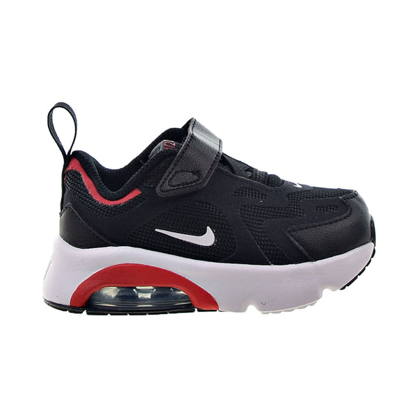 Nike Air Max 200 Toddlers' Shoes Black-White-University Red