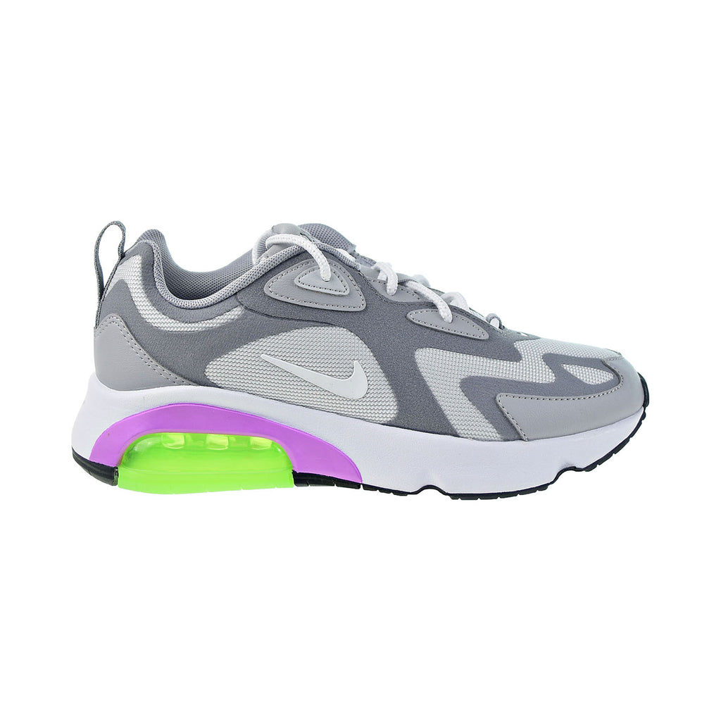 Nike Air Max 200 Women's Shoes Pure Platinum-White-Cool Grey