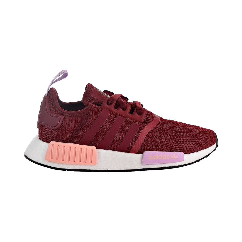 Adidas NMD_R1 Women's Shoes Collegiate Burgundy/Clear Orange
