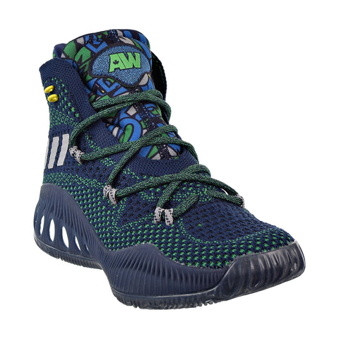 the latest 7f505 e4ec1 Adidas Crazy Explosive Primeknit Big Kids  Shoes Collegiate Navy Grey Green