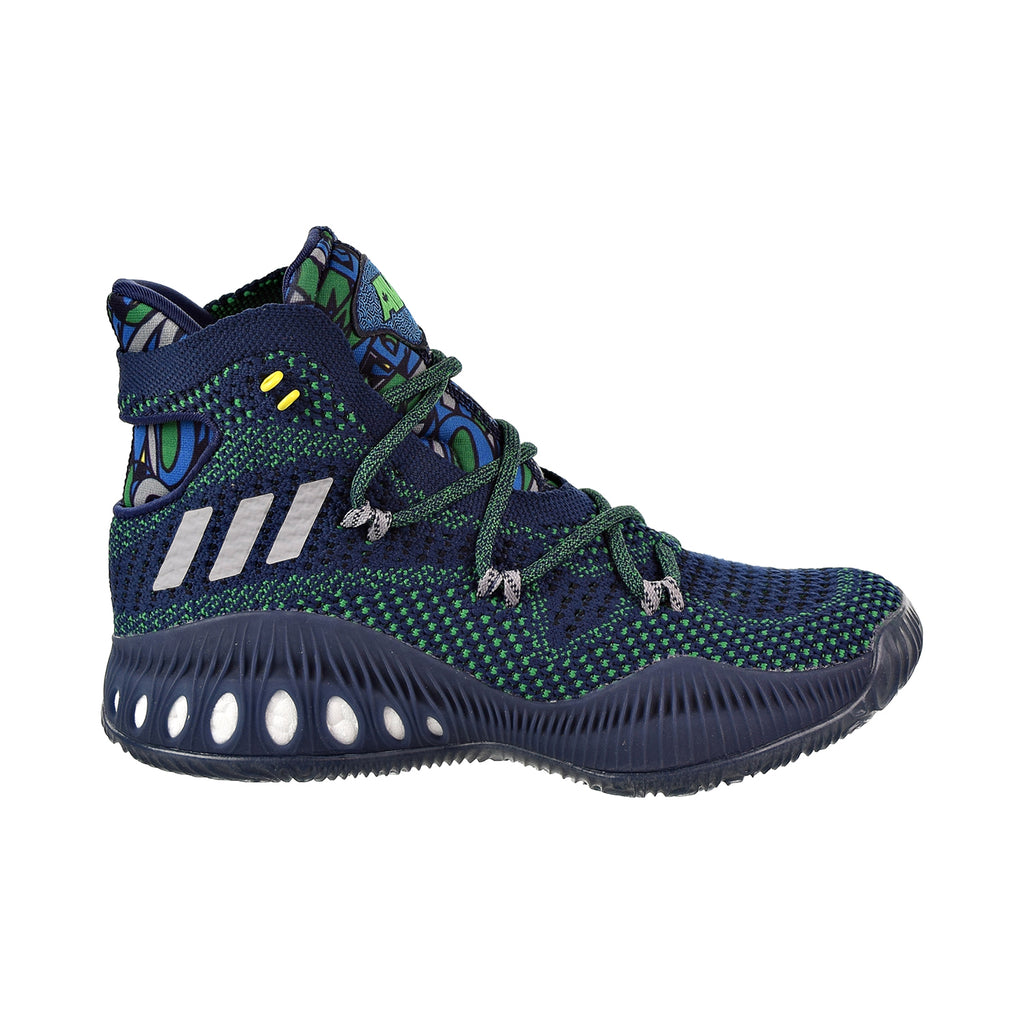timeless design 0cd42 c8d01 Adidas Crazy Explosive Primeknit Big Kids  Shoes Collegiate Navy Grey  –  rbdoutlet