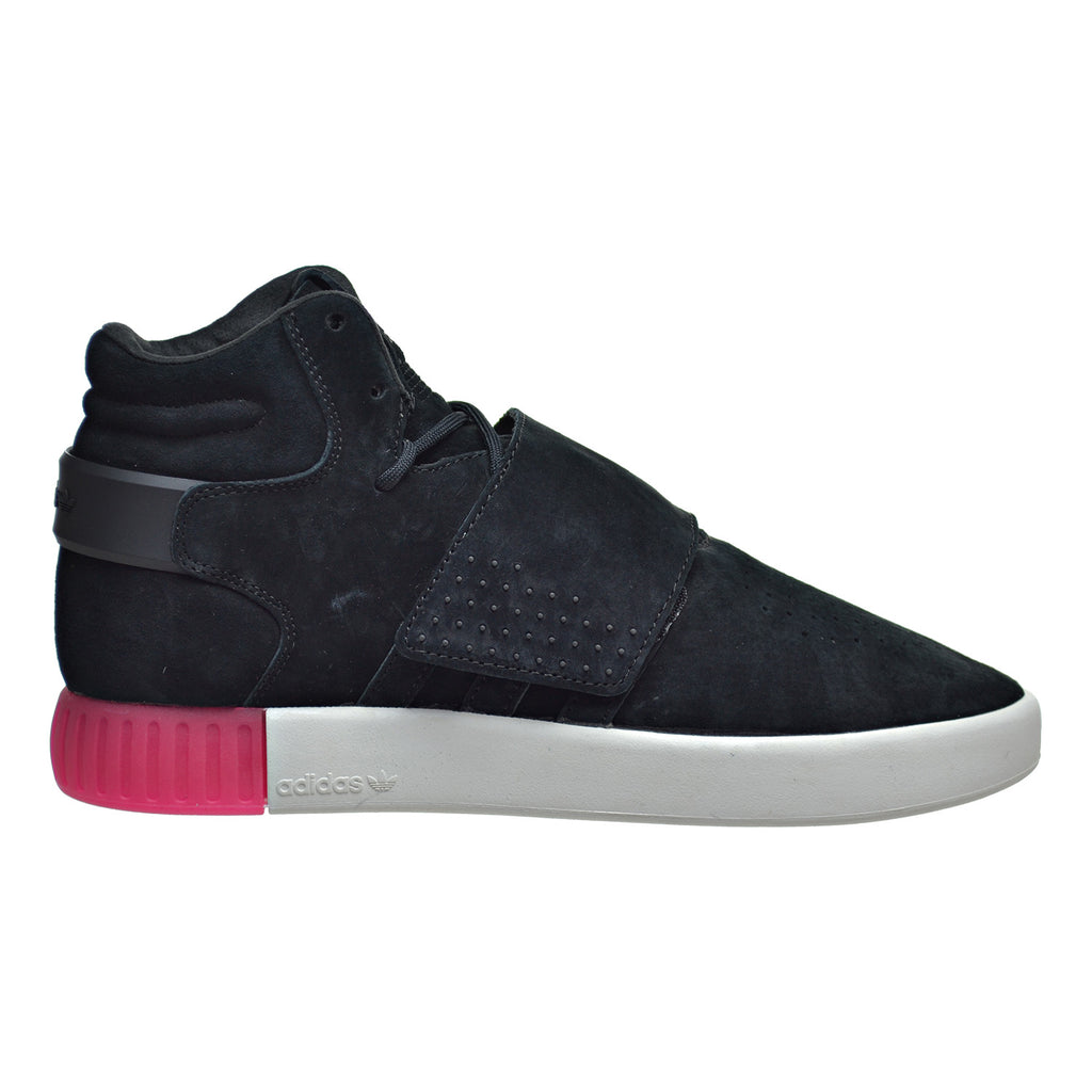 Adidas Tubular Invader Strap Women's Shoes Core Black/Black/Shock Pink
