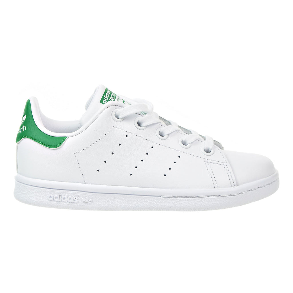 Adidas Originals Stan Smith Preschool Unisex Shoes White/Green