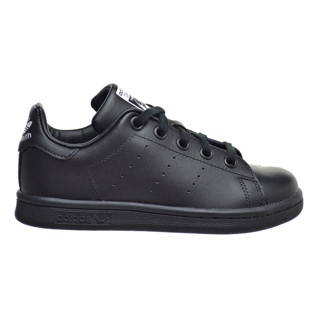 Adidas Stan Smith C Little Kid's Shoes Core Black/Core Black/Core Black