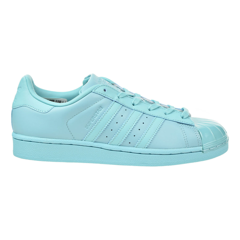 Adidas Originals Superstar Glossy Toe Women's Shoes Easy Mint/Core Black