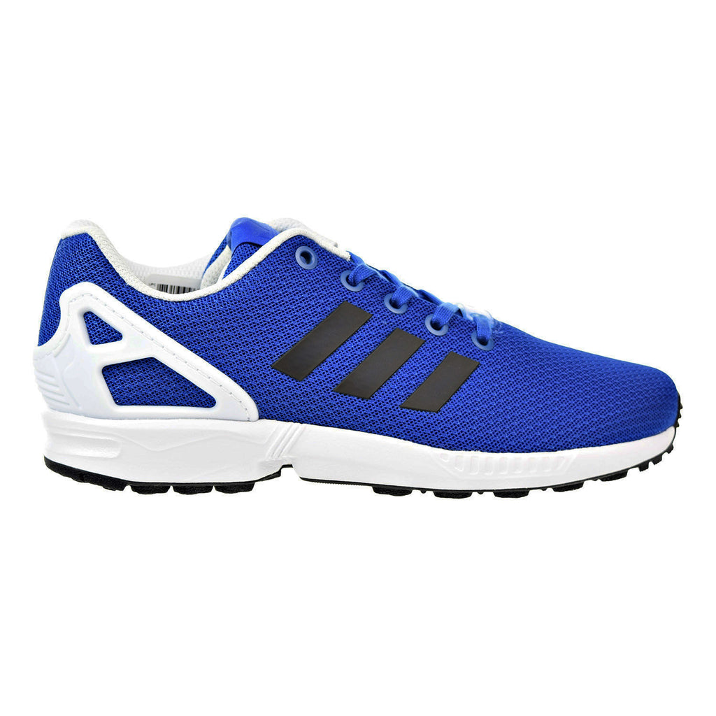 Adidas Originals ZX Flux Big Kids Unisex Shoes Blue/Black/Footwear White
