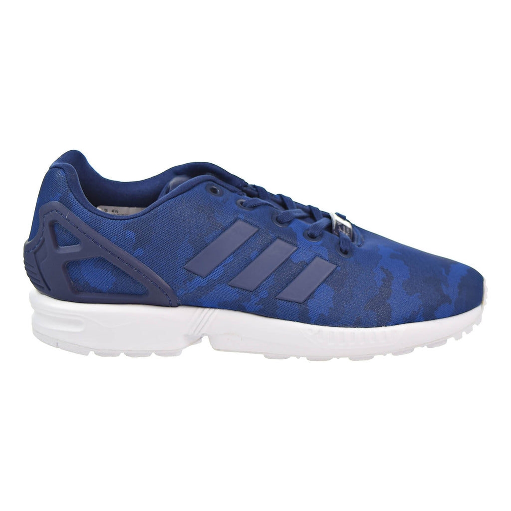 Adidas ZX Flux J Big Kids Casual Shoes White/White/White