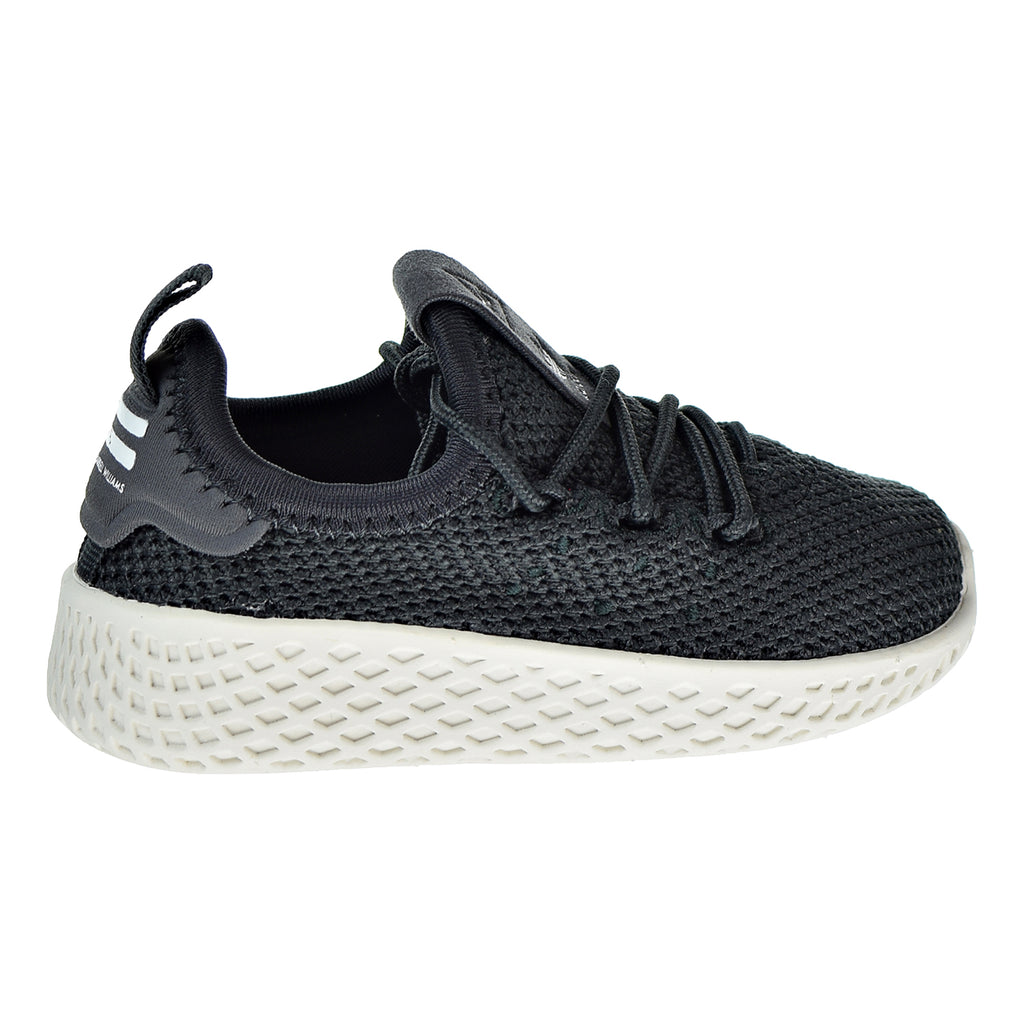 Adidas Pharrell Williams Tennis HU Toddlers Shoes  Carbon/Carbon/Chalk White