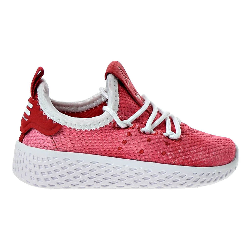 Adidas Pharrell Williams Tennis HU I Toddler's Shoes Pink/White