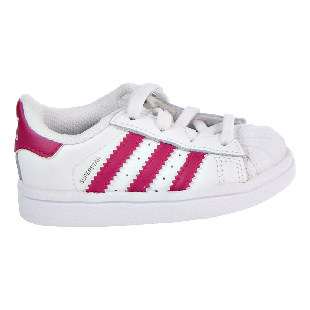 Adidas Superstar I Toddler's Shoes White/Pink