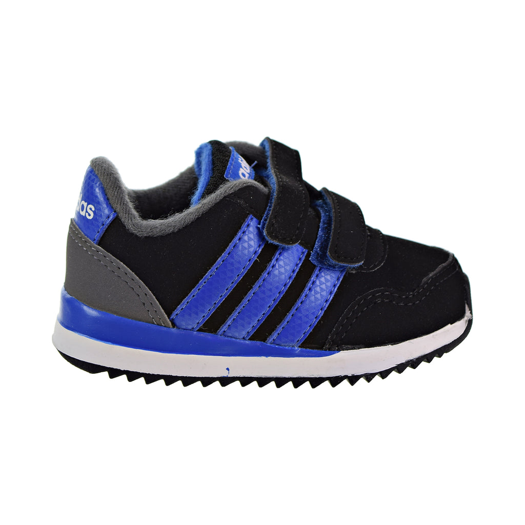 Adidas V Jog CMF Toddlers Core Black/Blue/Grey