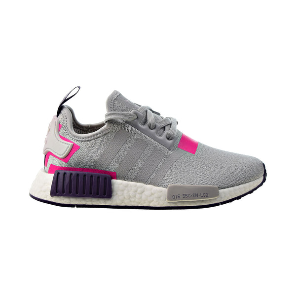 Adidas NMD R1 Women's Shoes Grey-Pink-Purple