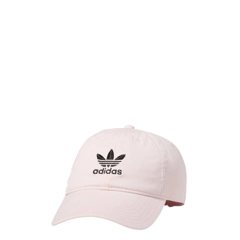 dc4cb230ef8 Adidas Men s Originals Precurved Washed Relaxed Strapback Hat Clear Pink  Black