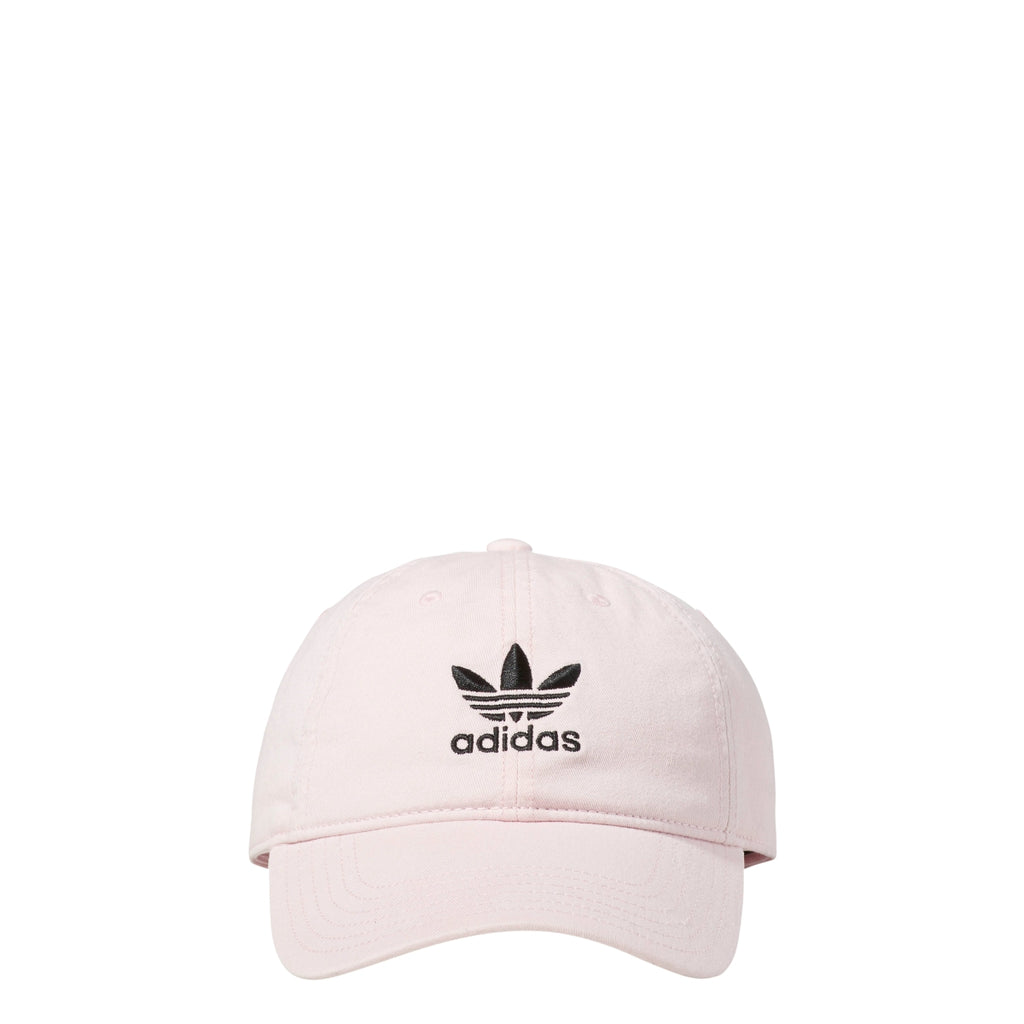 Adidas Men s Originals Precurved Washed Relaxed Strapback Hat Clear Pi –  rbdoutlet 6bc6b414140