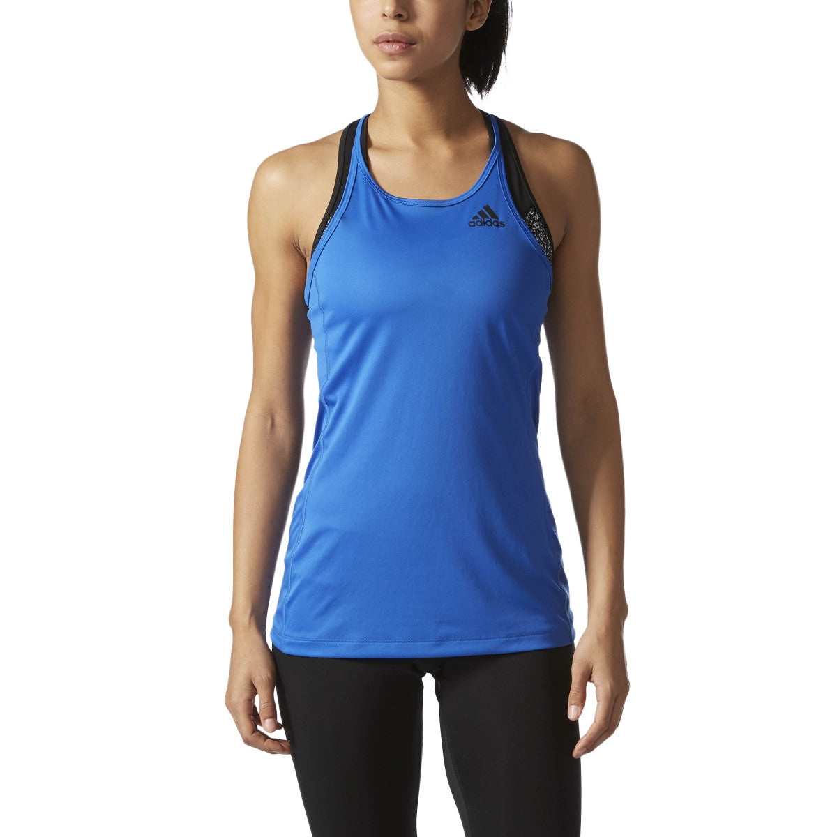 Adidas Originals BVD Sports Performance Step Up Women's Training Tank Top Blue
