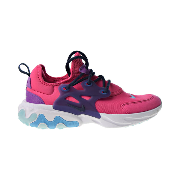 Nike React Presto Big Kids' Shoes Watermelon-Blue Fury-Purple Nebula