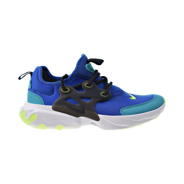 Nike React Presto Little Kids' Shoes Hyper Blue-Ghost Green-Black