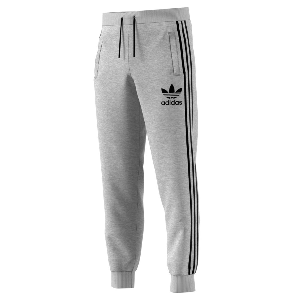 Adidas Originals 3-Stripes French Terry Men's Sweat Pants Medium Grey/Black