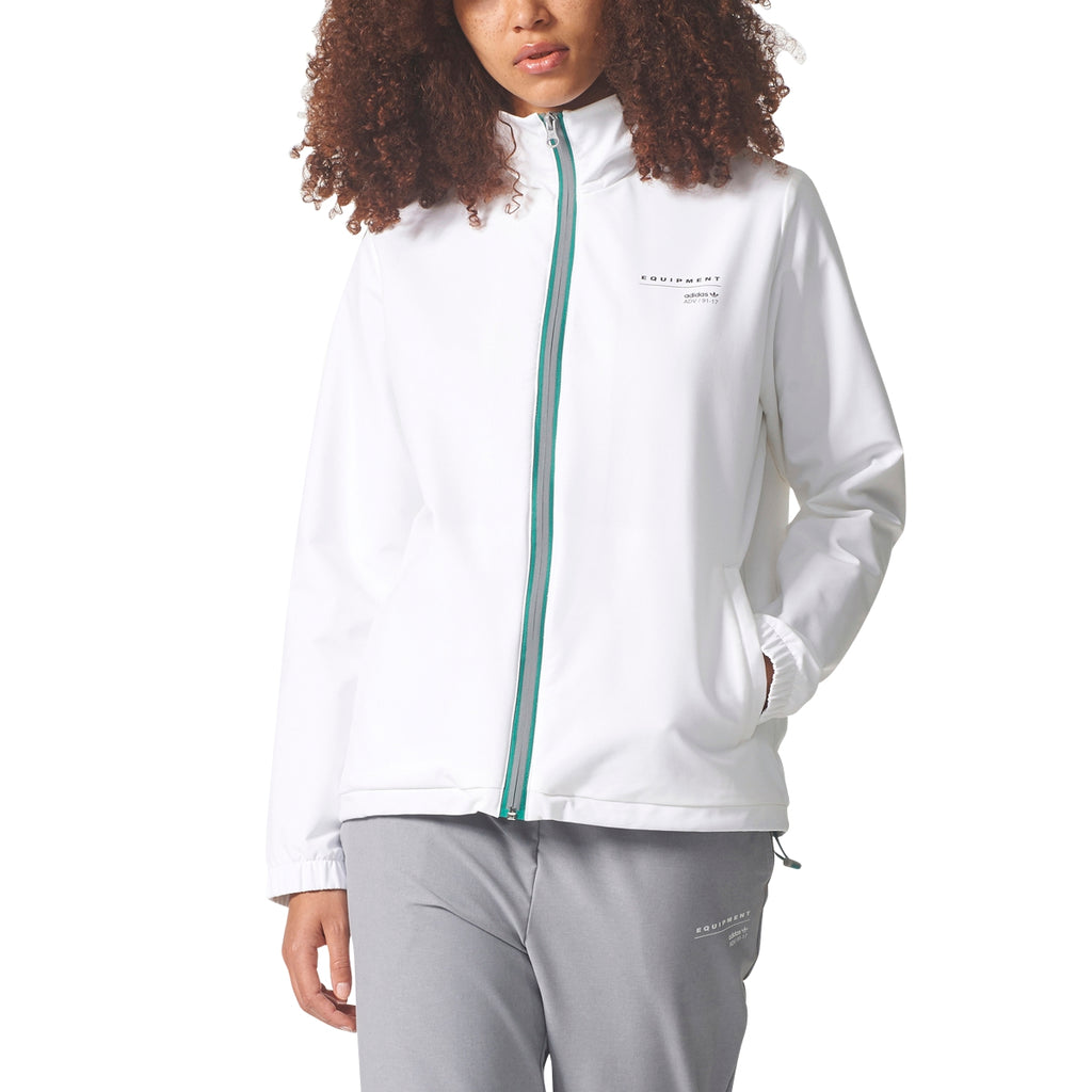 Adidas Women's Originals EQT Woven Track Jacket White