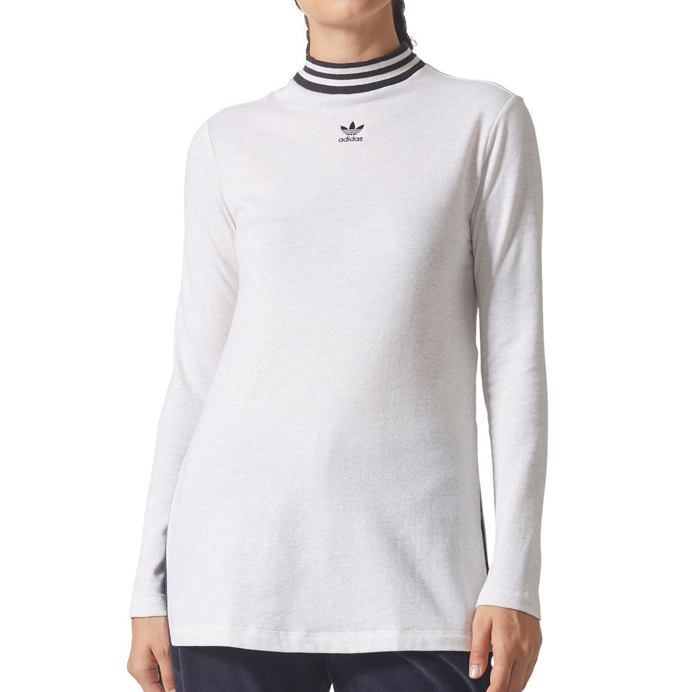 Adidas Originals Women's Longsleeve T-Shirt Cream/Black