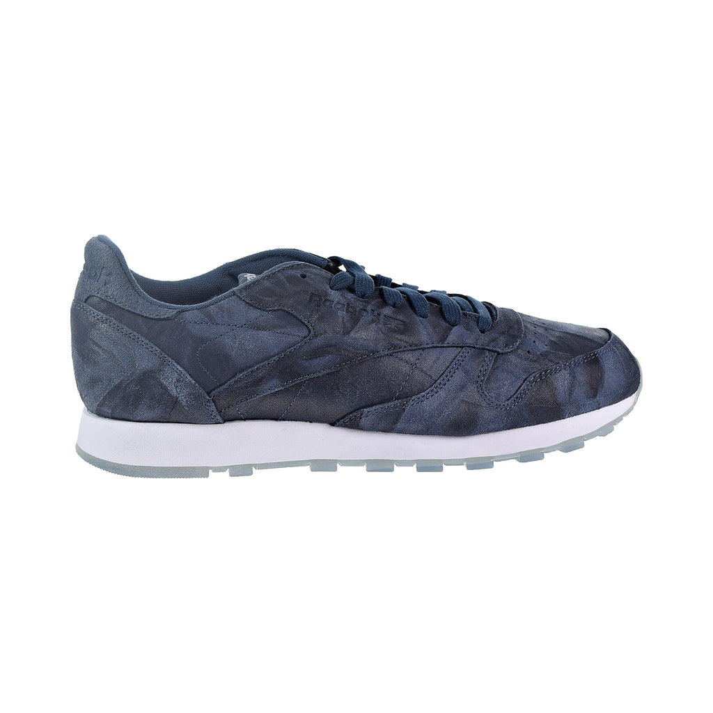 Reebok CL Leather CTE Men's Shoes Smoky Indigo/White