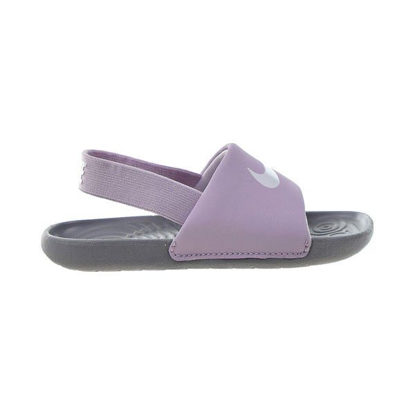 Nike Kawa Slide (TD) Toddlers' Sandals Iced Lilac-White-Particle Grey