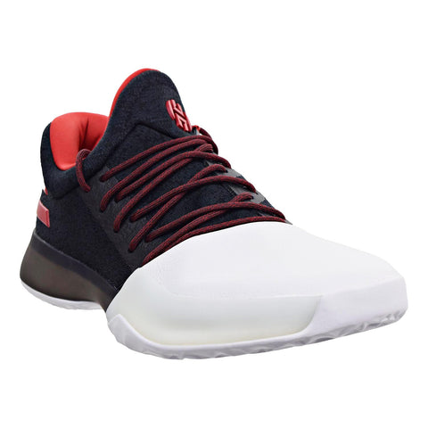 a25aafd13e1f3b Adidas Harden Vol. 1 Men s Basketball Shoes Core Black Light Scarlet Running  White