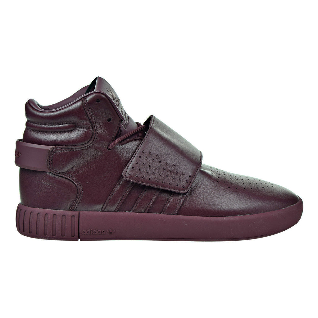 Adidas Tubular Invader Strap Men's Shoes Maroon/Light Maroon