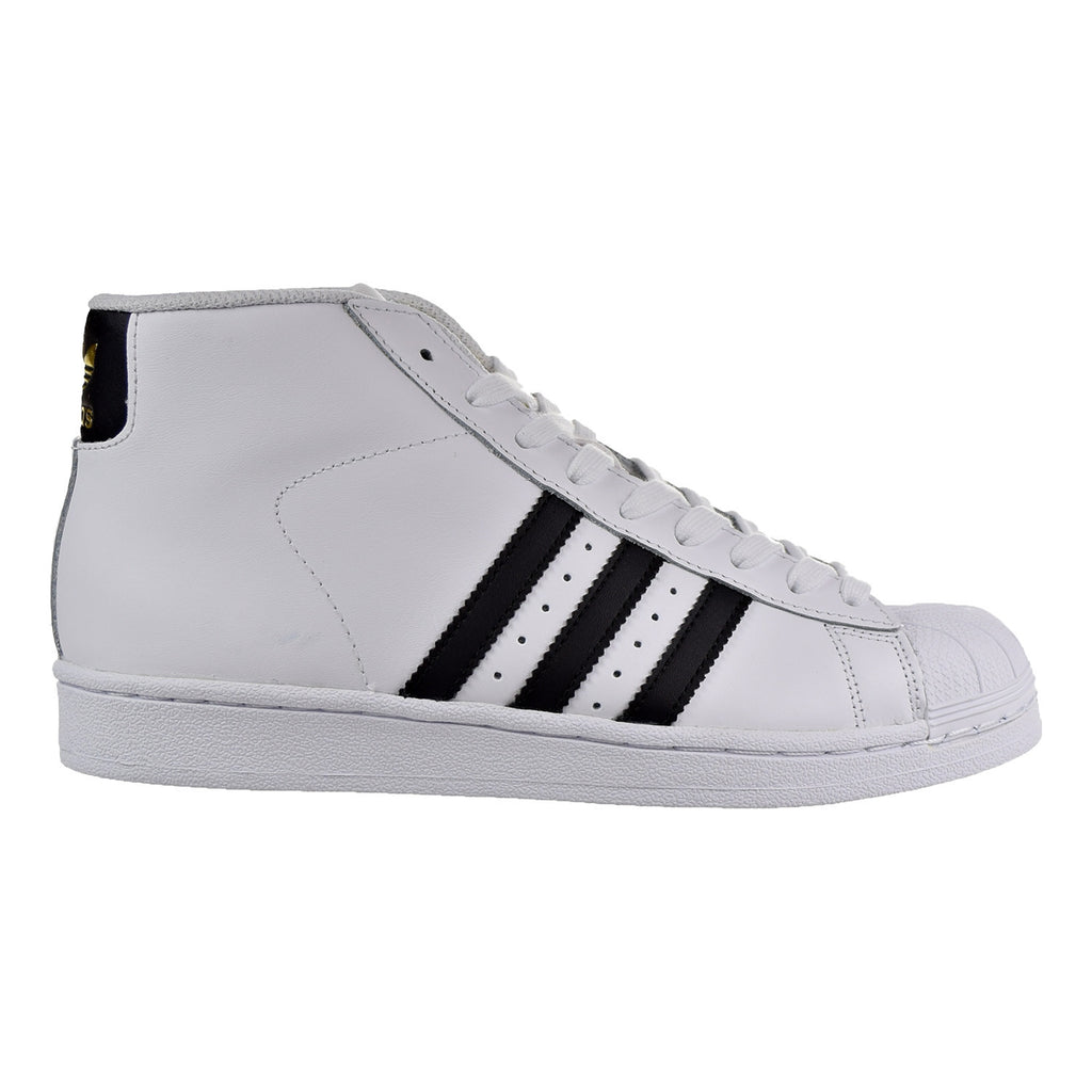 Adidas Pro Model Women's Shoes White/Black/Gold Metallic
