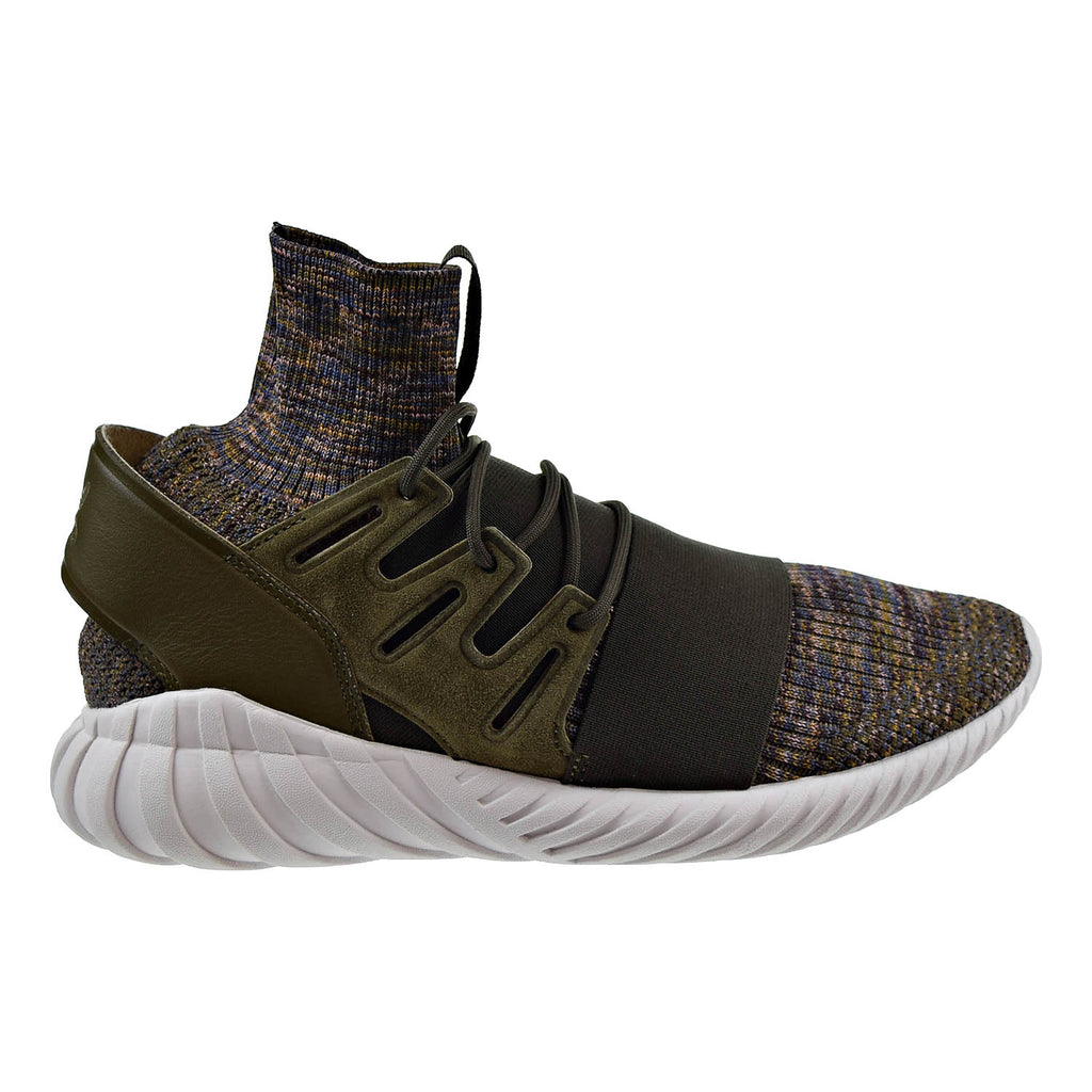 Adidas Tubular Doom Primeknit Mens Shoes Trace olvie/Mystery Brown