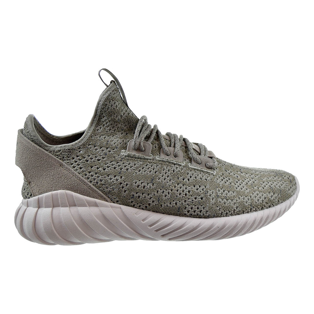 Adidas Tubular Doom Sock Primeknit Mens Shoes Sesame/Sesame/White