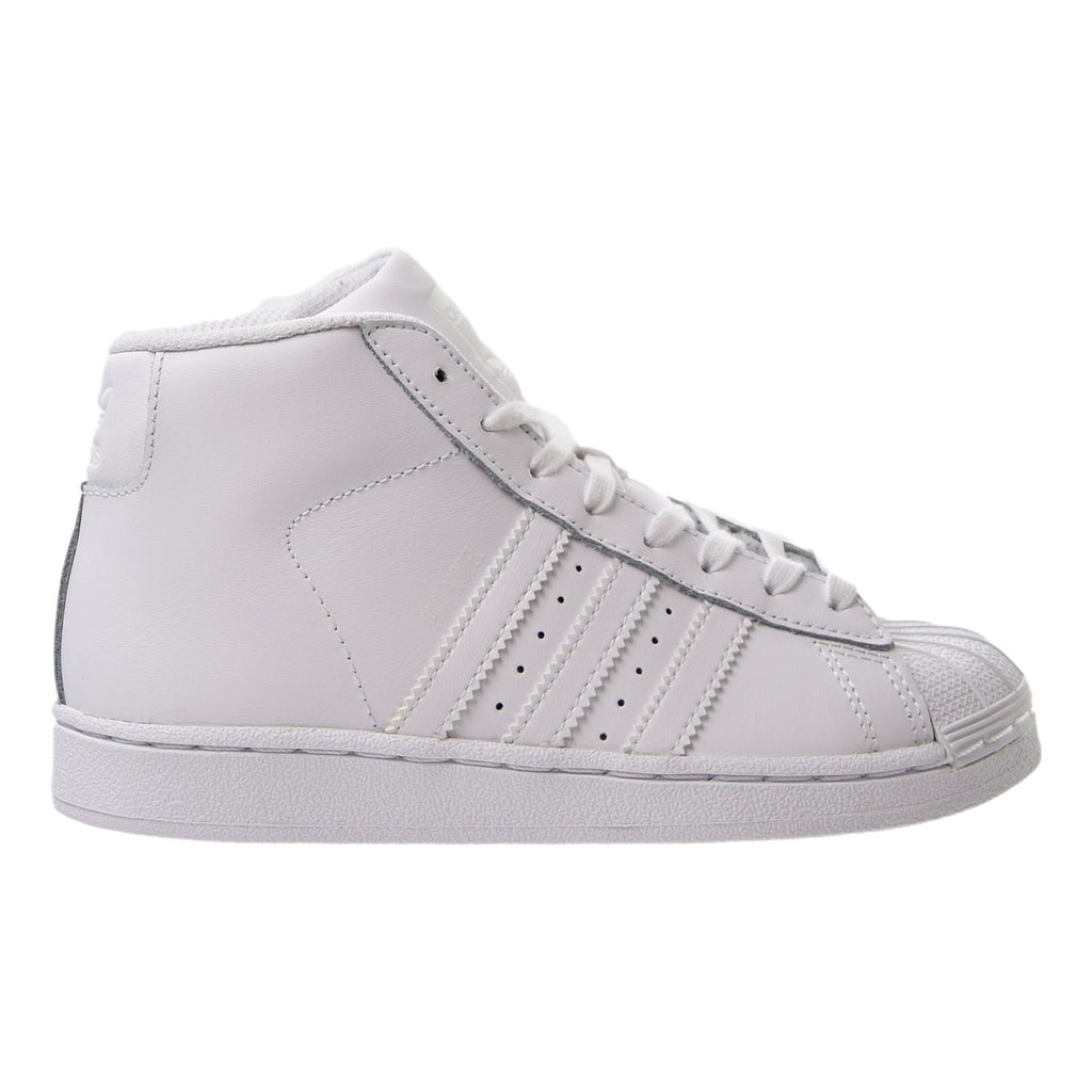 Adidas Pro Model C Little Kids (PS) Shoes White/White