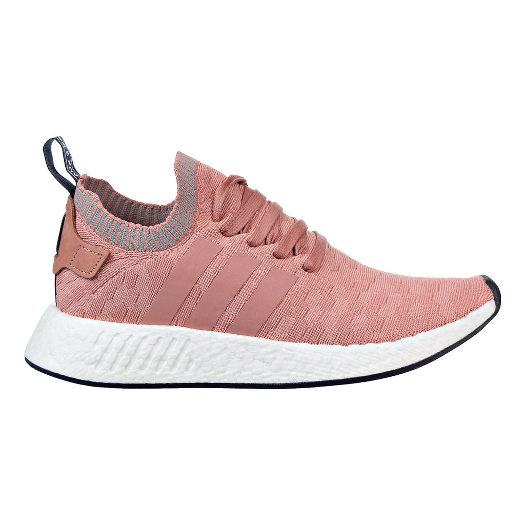 Adidas Originals NMD_R2 Primeknit Women's Shoes Raw Pink/Raw Pink/Grey Three