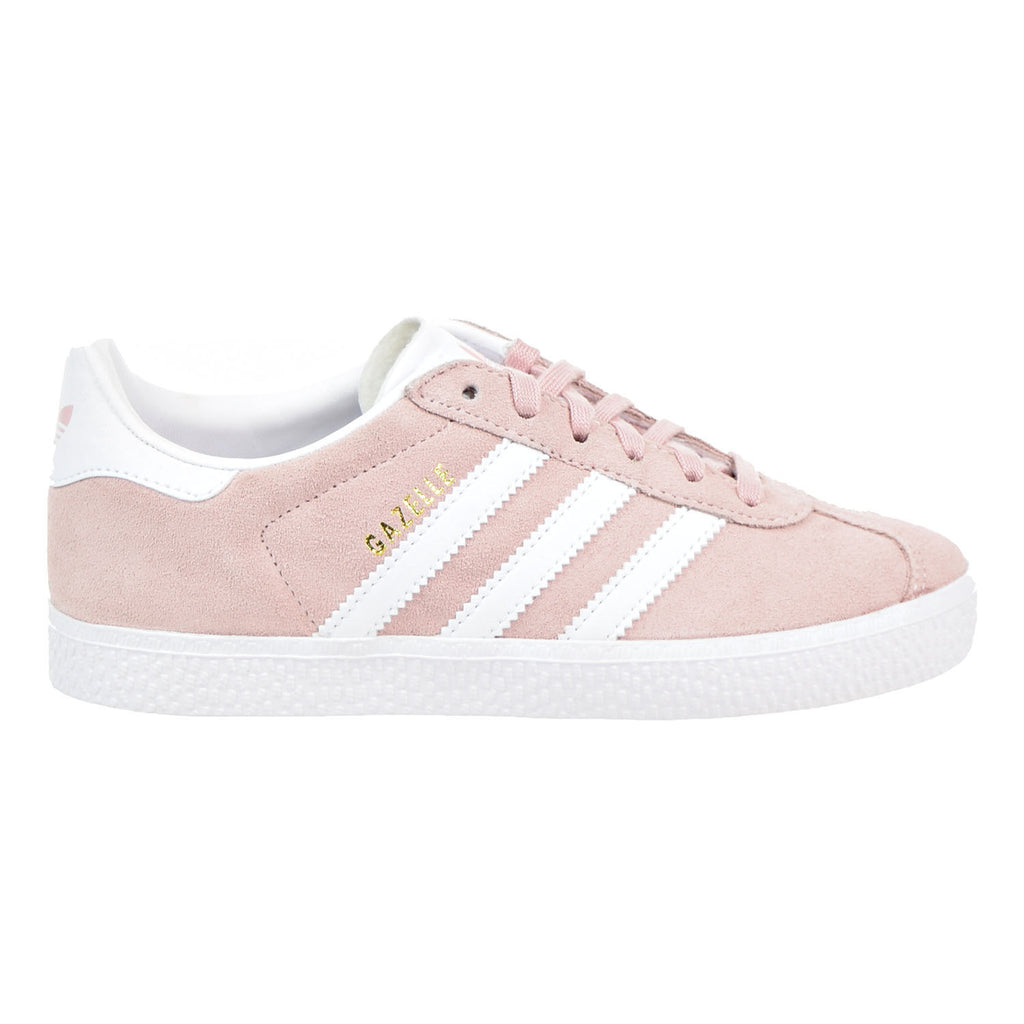 Adidas Gazelle C Little Kid's Shoes Ice Pink/White/Gold
