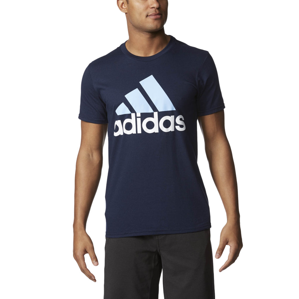Adidas Originals Badge Of Sport Men's Training T-Shirt Collegiate Navy