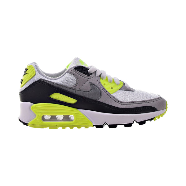 Nike Air Max 90 Women's Shoes White-Grey-Volt