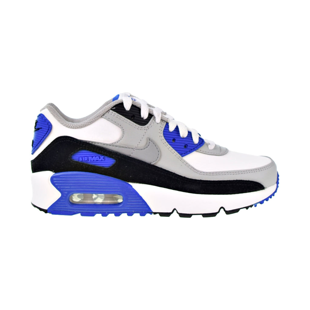 Nike Air Max 90 LTR Big Kids' Shoes White-Particle Grey-Navy
