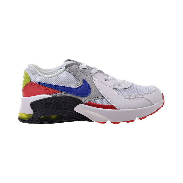 Nike Air Max Excee Little Kids' Shoes White-Blue-Cactus-Red