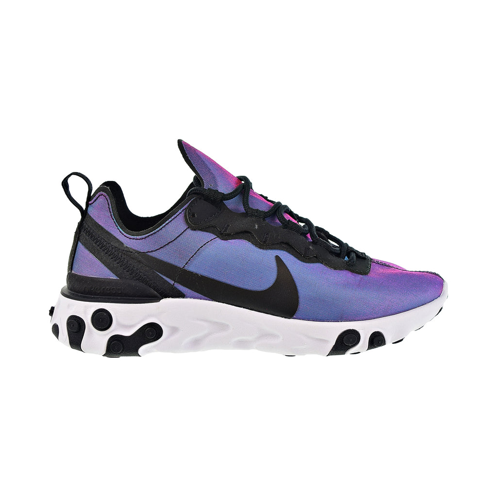 Nike React Element 55 Premium Women's Shoes Black-Laser Fuchsia