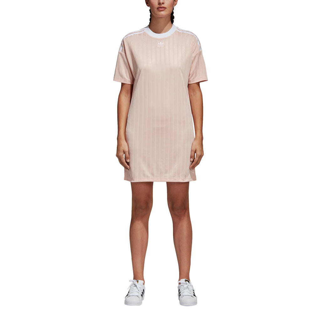 Adidas Women's Originals Trefoil Dress Pink/White