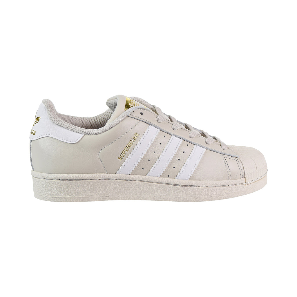 Adidas Superstar Big Kids' Shoes Talc/White/Gold