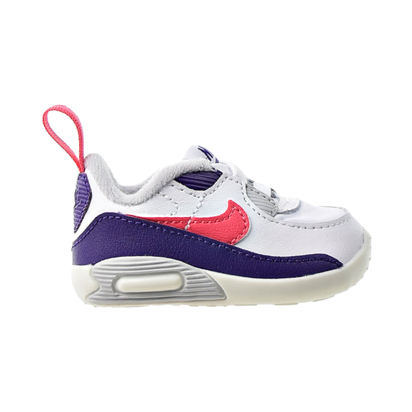 Nike Max 90 Crib (CB) Infants' Baby Shoes White-Flamingo-Grey Fog