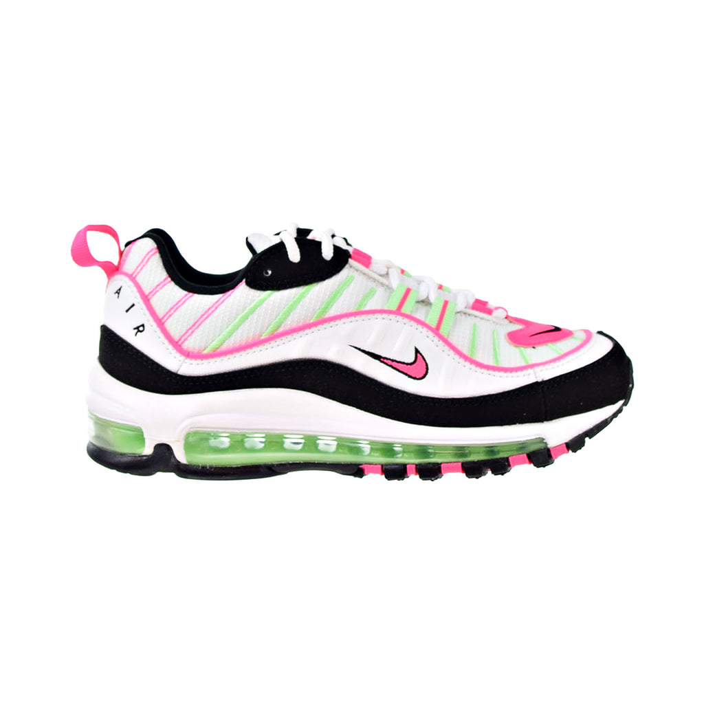 Nike Air Max 98 Women's Shoes White-Hyper Pink
