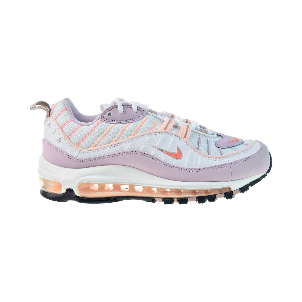 Nike Air Max 98 Women's Shoes White-Atomic Pink