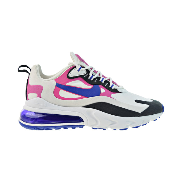 Nike Air Max 270 React Women's Shoes Summit White-Hyper Blue